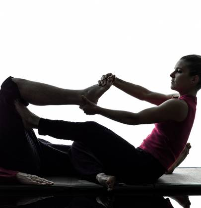 Thai Yoga and Deep Tissue Massage Combo